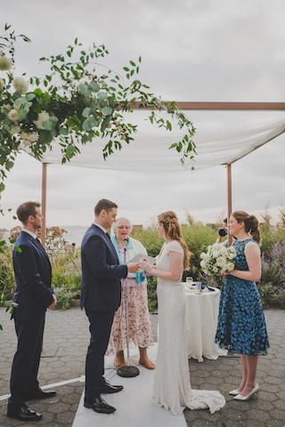 Emily & Sean ring ceremony