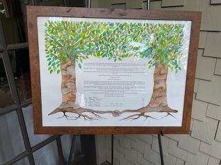 wedding documents